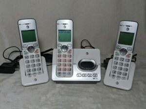 AT&T EL52303 DECT 6.0 Cordless Answering Machine Home Landline Phone Set Handset