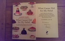 What Caesar Did for My Salad SIGNED Albert Jack Hardback 2010 1st Edition Book *