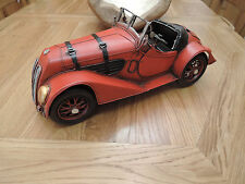 1937-1941 VINTAGE TIN PLATE RED BMW SPORTS ROADSTER