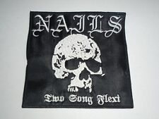 NAILS TWO SONG FLEXI EMBROIDERED PATCH