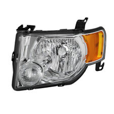 Ford 08-12 Escape Chrome Housing Replacement Headlight Driver / Left Side