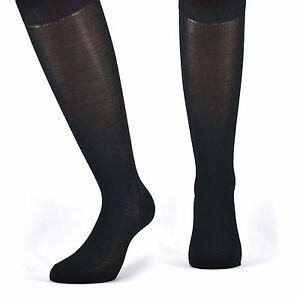 6 paia di calze lunghe UOMO in cotone Filo di Scozia elasticizzato