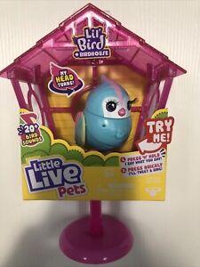 "Little Live Pets Lil' Bird ""Rainbow Tweets"" & Birdhouse Interactive Pet"