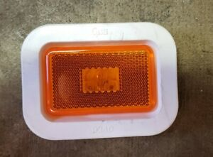 Grote 45233 Clearance & Marker Light Amber Yellow w/ Grommet