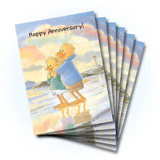 Suzy's Zoo Anniversary Greeting Card 6-pack 10281