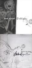 Dave McKean Signed Autographed Postcard From Vienna Hc *Rare* 1st Ed 1st Print