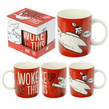 i woke up like this simons cat bone china mug