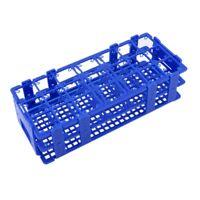 Blue Plastic 21 Holes Box Rack Holder for 50ML Centrifuge Tubes A1M4
