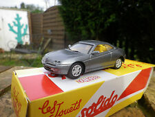 SOLIDO ALFA ROMEO GTV 1999 gris Neuf dans sa boite collection HACHETTE