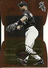 1997 Leaf Fractal Matrix Die Cut Bronze Ray Durham 114 White Sox