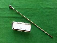 JAGUAR E-TYPE Series 1 Used INTERIOR REAR VIEW MIRROR and its Mounting Rod