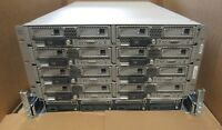 Cisco UCS 5108 + 8x B200 M4 Blade Servers 16x Intel E5-2660v3 10-Core 1024GB Ram