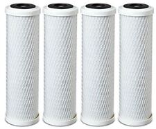 4-Pack Universal 10 Inch Carbon Block Filter Cartridge for Whole House Filter Sy