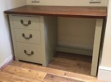 SOLID PINE PEDESTAL DESK - Choice of Colours (Can be made to any size)