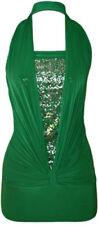 Altri maglie da donna senza maniche verde