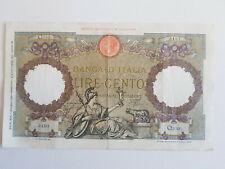 Banconota - LIRE 100 AQUILA ROMANA - Q330 5497 - 01.06.1939