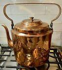 Vintage Russian Oversized Heavy Copper Tea Kettle, Kolchugin, Russia, 1950s