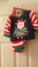 Bebé Navidad Pijamas Talla 6-9 meses