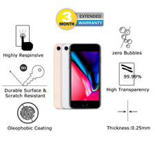 iPhone 8 Tempered Glass Apple iPhone 8 Tempered Glass Screen Protector Clear UK1