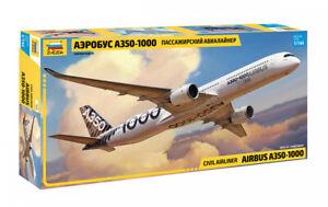 Zvezda 1/144 Airbus A350-1000 Civil Airliner # 7020