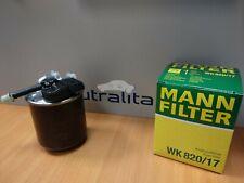 NEW  WK820/17 - MANN-FILTER  Fuel filter  FOR Mercedes Benz
