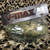 NEW Valken V-Max A5/X7/Phenom Cyclone Feed Paintball Hopper Loader - V-Cam Camo