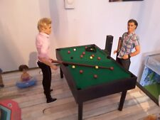 barbie doll furniture handmade wooden pool table for barbie and ken ...