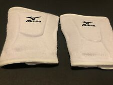 New Mizuno Adult Volleyball Knee Pads Size Large White