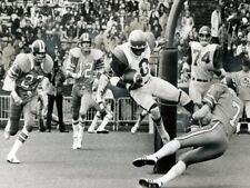 Cfl 1976 Johnny Rodgers Montreal Alouettes Game Action 8 X 10 Photo Picture
