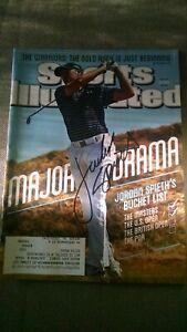 JORDAN SPIETH signed Sports Illustrated 6/29/2015,  U.S. OPEN, Major Drama