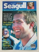Brighton v Bristol Rovers Football programme Carling Cup 2004-2005