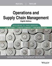 Operations And Supply Chain Management,8e by Taylor Russel