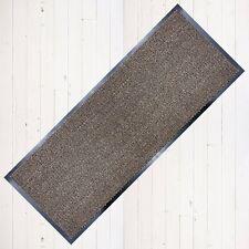 Carpet Runner Long Hall Non Slip Stopper Rug Runners 60cm x 160cm Black/Beige UK