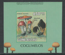 Guinea Bissau 5660 - 2010 MUSHROOMS #4 imperf deluxe sheet unmounted mint