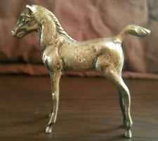 Argent Massif Espagne Superbe Cheval/Poulain Figurine Miniature  45g (3)