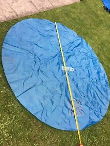 INTEX 8FT SOLAR POOL COVER For Inflated Ring Style Pool Only Used For One Week.