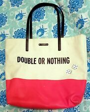 Kate Spade Double or Nothing Bag Purse Tote Dice