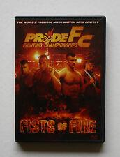 PRIDE FC FIGHTING CHAMPIONSHIPS FISTS OF FIRE PREMIERE MMA GRAND PRIX CONTEST