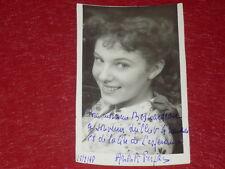 [Coll. BESNARDEAU] CINEMA - SPECTACLE Dédicace Anouk FERJAC 1948! Rare
