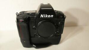 WORKING NIKON N90S AF AUTOFOCUS 35MM SLR FILM CAMERA BODY + MB-10 BATTERY GRIP