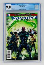 Justice League #30 CGC 9.8 White Pages Jessica Cruz Cameo Appearance NM/MT Key