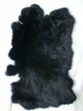 1-10Pcs Real Natural Rabbit Fur Pelt Skin Tanned Leather Hide Craft Pelt Decor