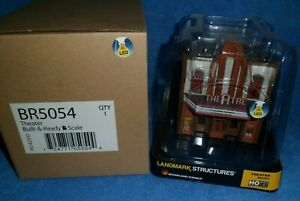 Woodland Scenics BR5054 Just Plug Built & Ready Theatre HO Scale