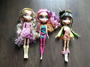 5 Assorted Imported Dolls, selling as set only