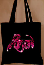 Poison  Band Concert  Tote Bag Book Bag Rhinestone Crystal  bling