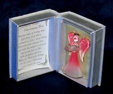 Precious Gifts Pink Guardian Angel Christening Personalised | Cellini Gifts #1