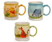 Disney Store Winnie the Pooh Tigger Eeyore Watercolor Coffee Mug 2015 New