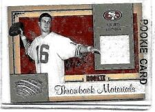ALEX SMITH LOT: 2 DIFFERENT AUTHENTIC PLAYER WORN ROOKIE JERSEY CARDS