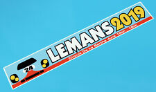 LE MANS 24 HOURS 2019 PAIR of '24' 917 retro style stickers decals 300mm x 50mm