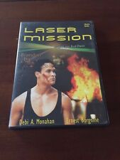 LASER MISSION 1989 - 1 DVD MULTIZONA 1-6 - 90 MIN - BRANDON LEE - EN BUEN ESTADO